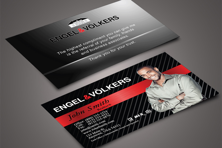 Engel volkers business cards templates printifycards - Engel and volkers ...