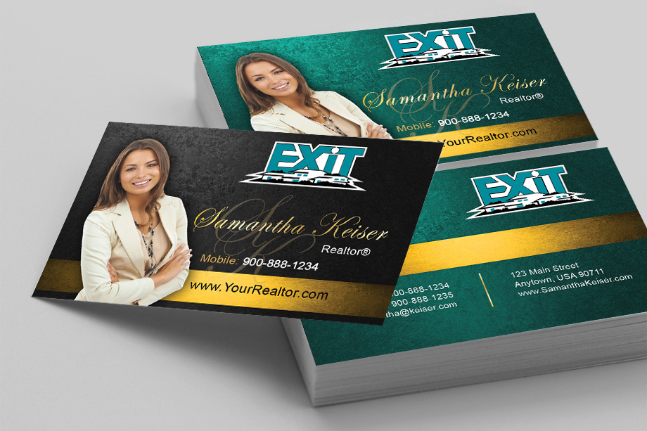 Exit Realty Business Cards Templates| PrintifyCards