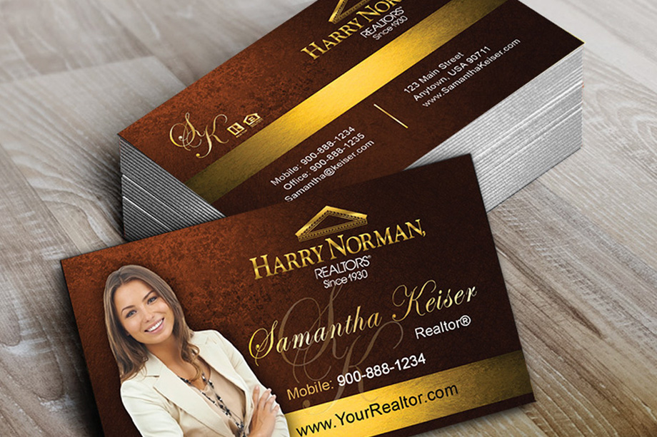 Harry Norman Realtors Agent Business Cards