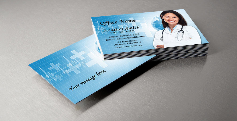 medical and health care business cards - Doctor Business Card