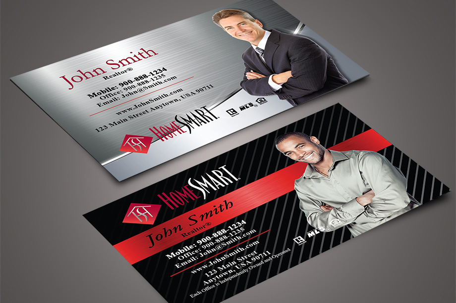 Homesmart Free Business Card Templates Printifycards