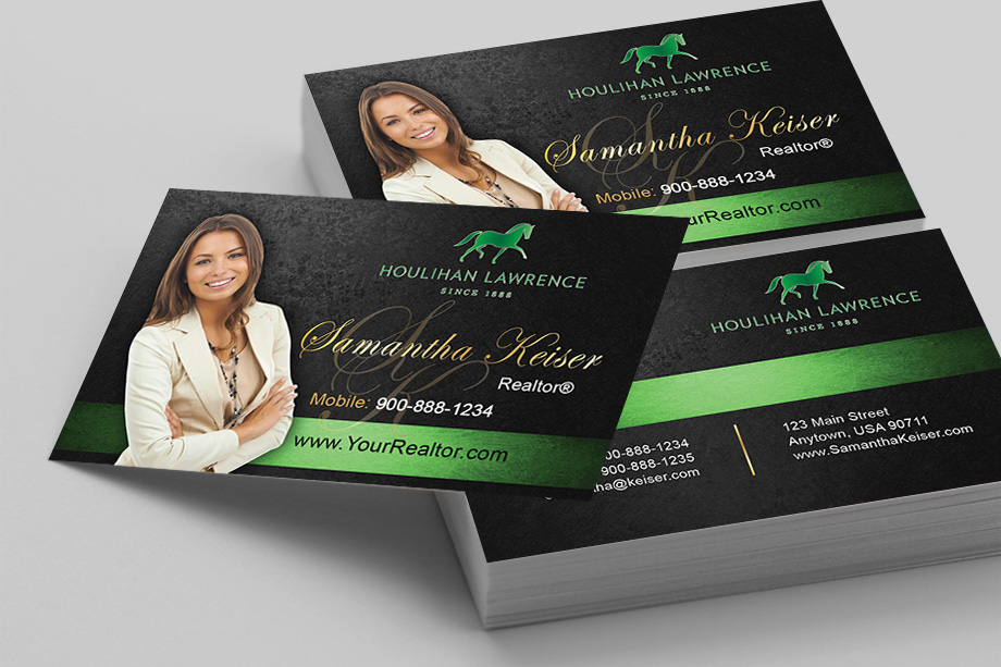 Houlihan Lawrence Agent Business Cards