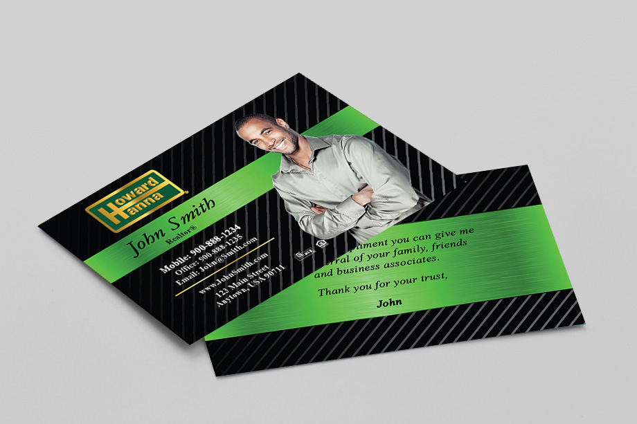 Howard Hanna Agent Business Cards