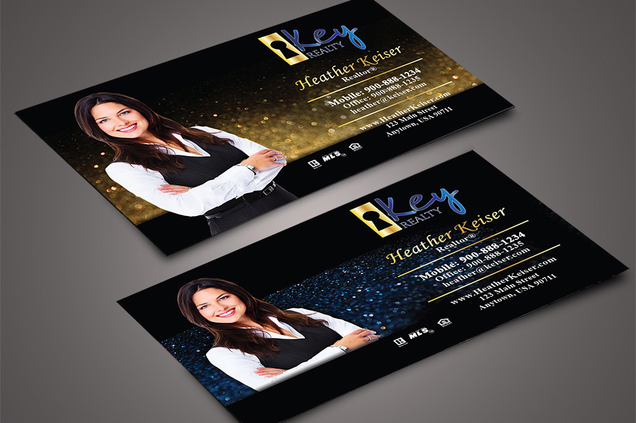 Key Realty Agent Business Cards