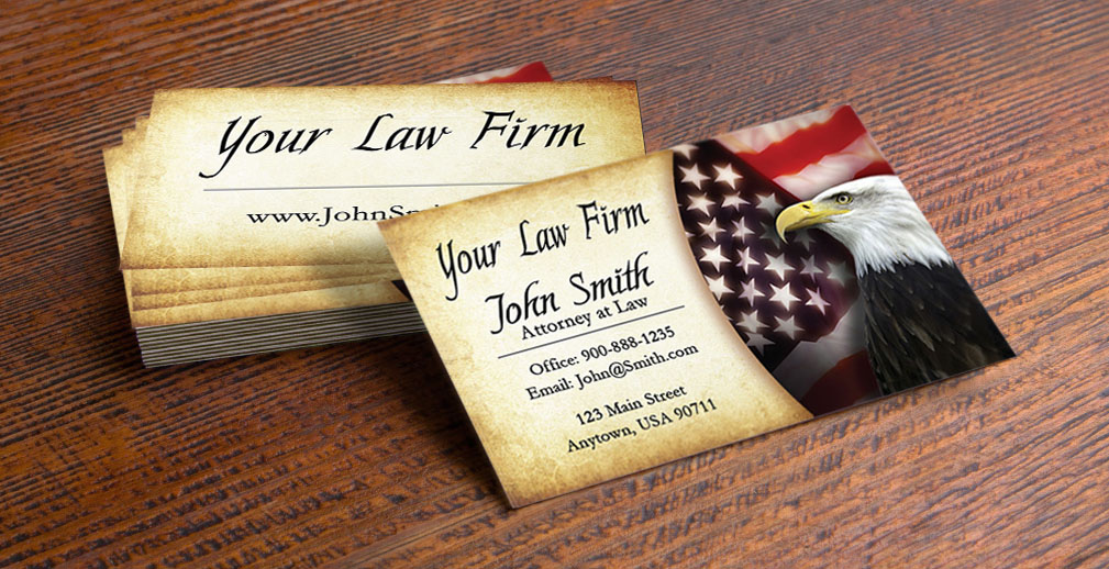 Professional Lawyer Business Cards