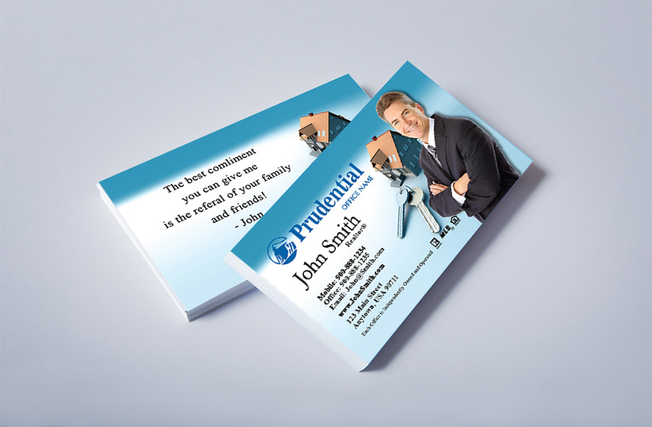Prudential Agent Business Cards