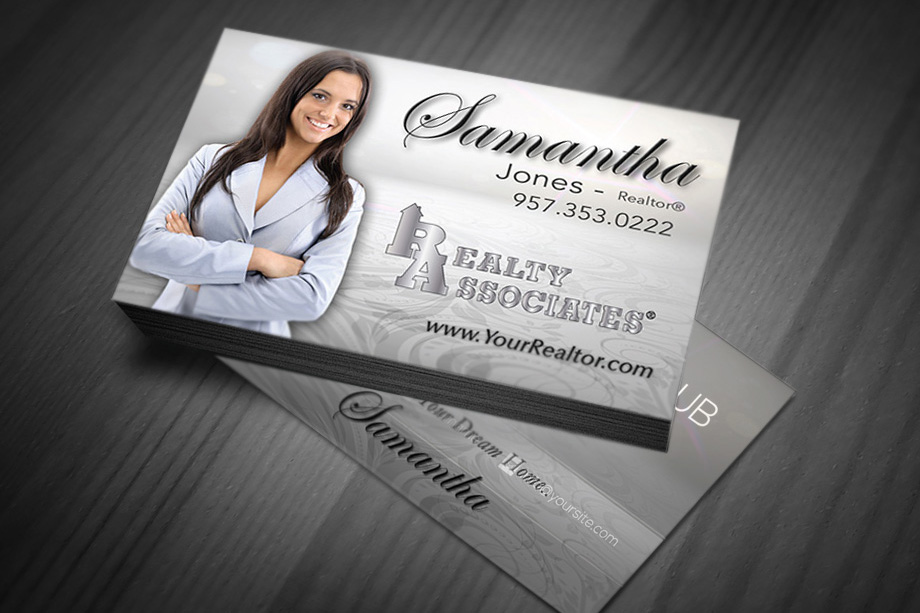 Realty Associates Agent Business Cards