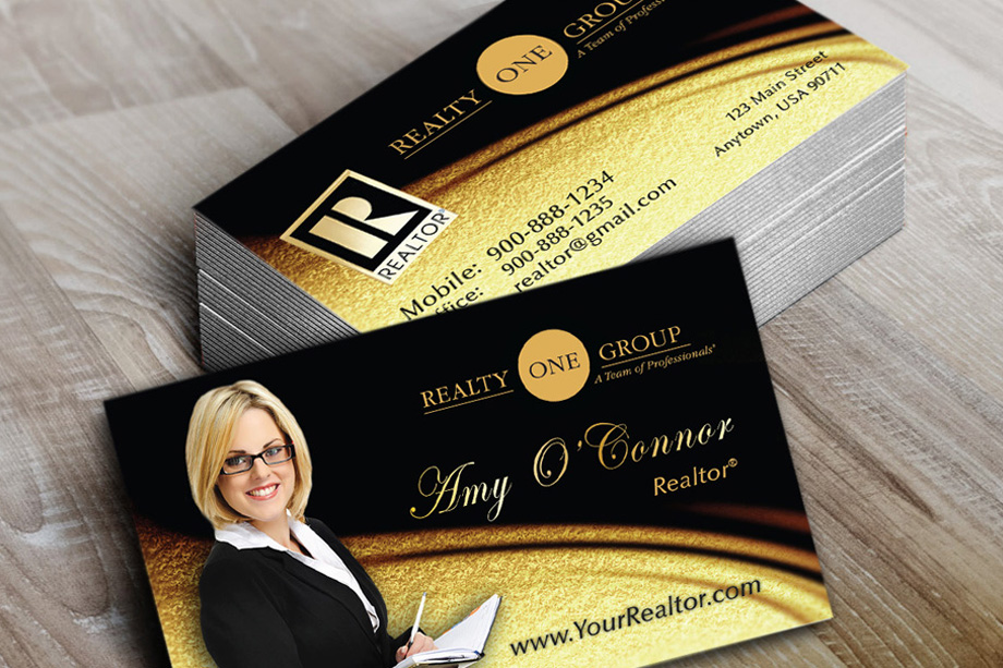 Realty One Group Agent Business Cards