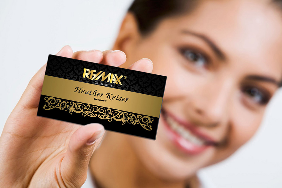 Remax realtor business card templates online free shipping real estate remax remax agent business cards flashek Images