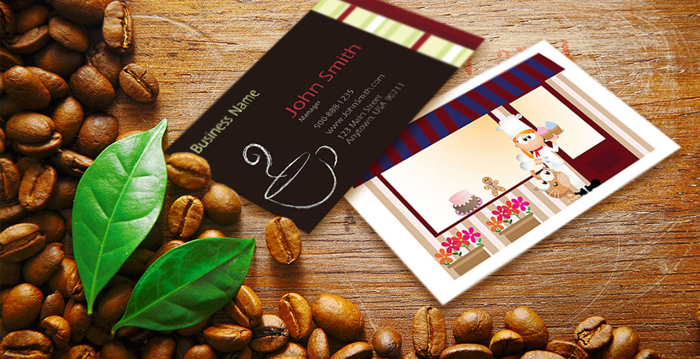 Food Industry Business Cards