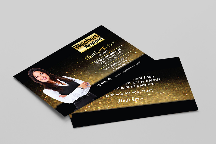 Weichert Realtors Agent Business Cards